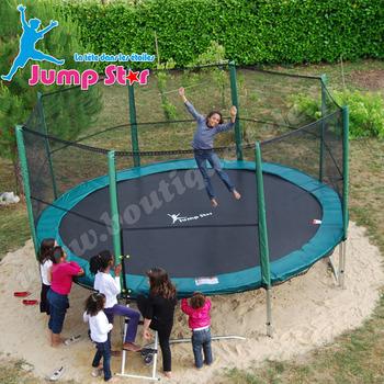 Achat trampoline avec filet decathlon for Trampoline piscine decathlon