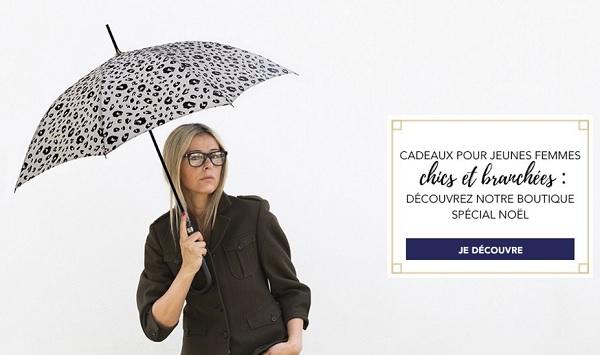 parapluie doublé femme