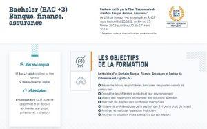 bac +3 assurance renne