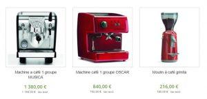 machine à café 3 groupes pas cher