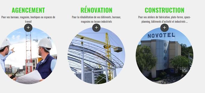 société réhabilitation de bâtiments industriels